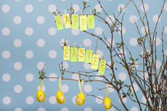 Happy Easter wishes Stock Image