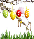 Happy easter - still life Royalty Free Stock Image