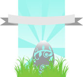 Happy Easter Template Royalty Free Stock Photos