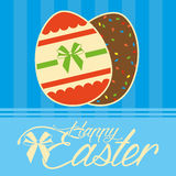 Happy Easter Template For A Card Stock Photography