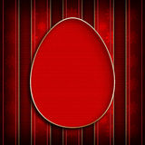Happy Easter - template design of greeting card Stock Photo