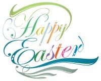 Happy Easter typographic design Stock Image