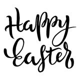 Happy Easter Typographic Phrase Royalty Free Stock Photography