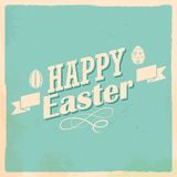 Happy Easter typography background Royalty Free Stock Images