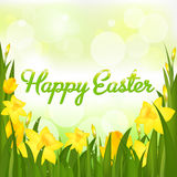 Happy Easter. Vector Royalty Free Stock Images
