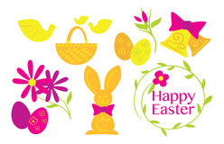 Happy Easter, Vector Royalty Free Stock Photo