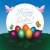 Happy Easter vector stock photography