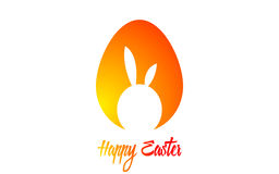 Happy Easter. Vector illustration. Easter card. Eggs Royalty Free Stock Image