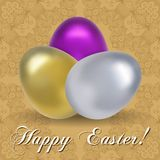 Happy Easter Vector Illustration Royalty Free Stock Image