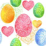 Happy easter. Vector illustration Royalty Free Stock Images