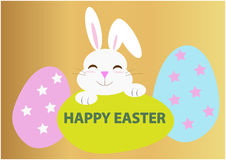Happy easter vector Stock Image