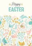 Happy Easter. Vector templates for card, poster, flyer and other users. Design element Stock Photo