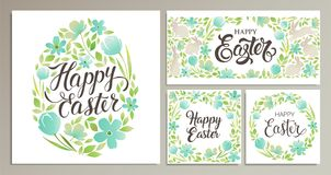Happy Easter. Vector templates card, poster, flyer and other users. Design element. Happy Easter. Vector templates for card, poster, flyer and other users Royalty Free Stock Photography