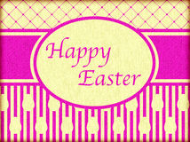 Happy Easter Vintage Greeting Card Stock Photos