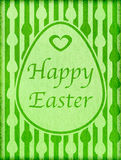Happy Easter Vintage Greeting Stock Photo