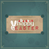 Happy Easter Vintage Royalty Free Stock Images