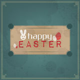 Happy Easter Vintage Stock Photo