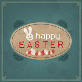 Happy Easter Vintage Stock Photography