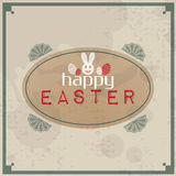 Happy Easter Vintage Stock Image