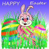 Happy easter vector Royalty Free Stock Photos