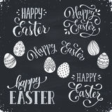 Happy easter wording Royalty Free Stock Photo