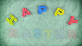 Happy Easter stock footage