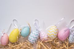 The happy easter for you design. Perfect for decoration of blogs, and the rest of the cards celebratory design royalty free stock image