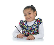 Happy Education Girl Royalty Free Stock Photography