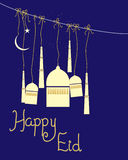 Happy eid Stock Images