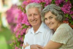 Happy elder couple Royalty Free Stock Photos