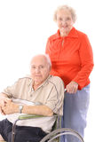 Happy elderly couple. Shot of a happy elderly couple Stock Photos