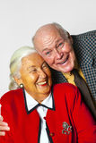Happy elderly couple enjoy life Royalty Free Stock Photos