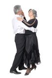 Happy elderly couple Stock Images