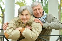 Happy Elderly couple Stock Photo