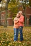Happy elderly couple Royalty Free Stock Images