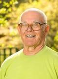 Happy elderly man Stock Photography