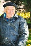 Happy elderly man Royalty Free Stock Images