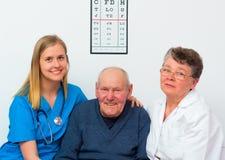 Happy Elderly Person Stock Photos