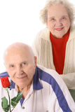 Happy elderly seniors Royalty Free Stock Photos