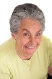 Happy elderly woman Stock Photography
