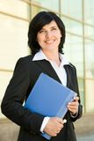 Happy employer Royalty Free Stock Images