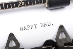 Happy end Royalty Free Stock Photo