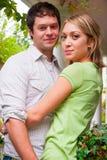 Happy Engaged Couple Royalty Free Stock Photo