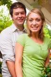 Happy Engaged Couple Royalty Free Stock Image