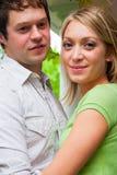Happy Engaged Couple Stock Image
