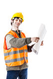 Happy engineer Royalty Free Stock Photos
