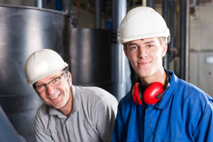 Happy engineers Stock Image
