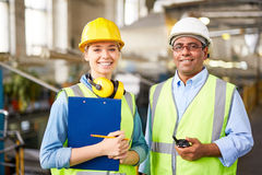 Happy engineers Stock Photography