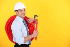 Happy entrepreneur Stock Photo