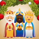 Happy epiphany design Stock Image